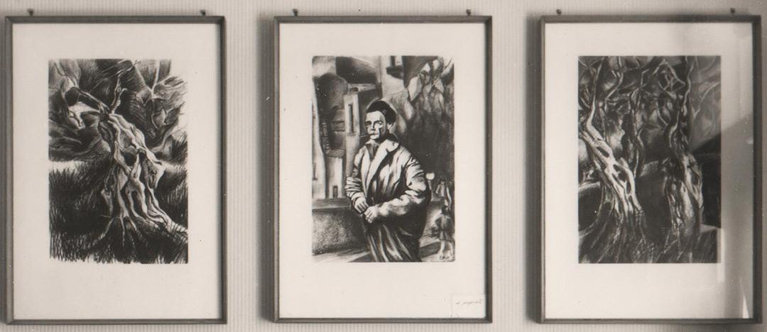 Giuseppe Micieli. Disegni esposti alla Mostra alla Galleria Poidomani, 1967