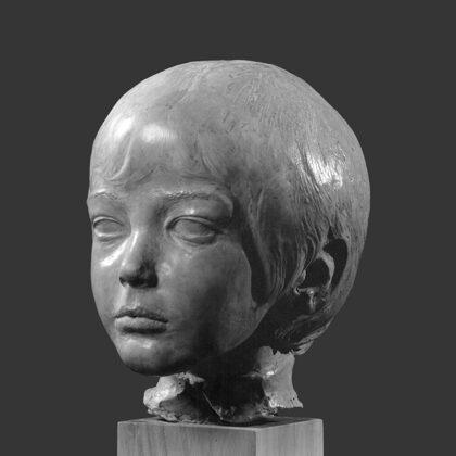 """""""Di Matteo b"""" 1969 terracotta, al naturale"""