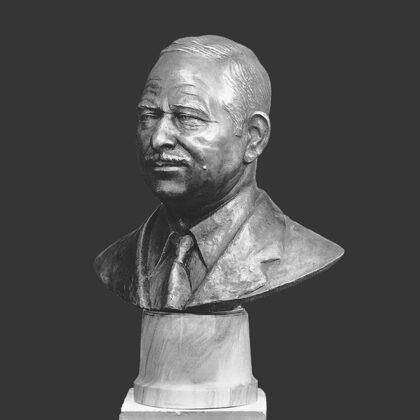 """""""Busto per cappella"""", 1974 bronzo, grandezza naturale"""