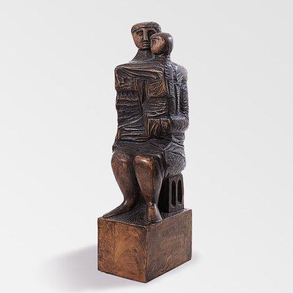 """""""Paternità"""" 1987 legno cm 55x18x15"""