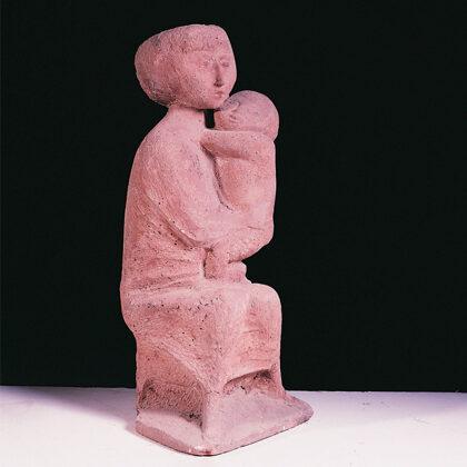 """""""Giovane madre"""" 1960 cemento cm 70x30x28"""