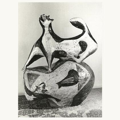 """""""Gatto"""" 1953 ceramica"""