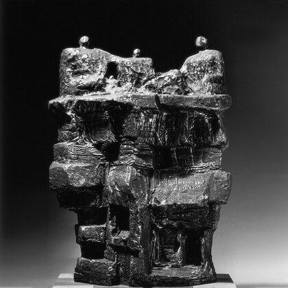"""""""La rupe"""" 1966 cemento cm 60x40x18"""