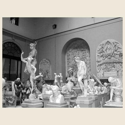 La gipsoteca della Scuola d'Arte di Firenze