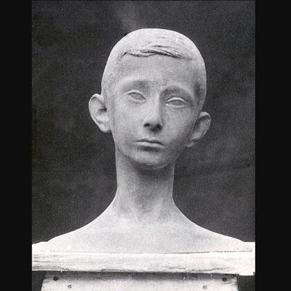 """""""Paolo"""" 1948 terracotta grandezza naturale"""