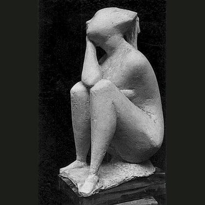 """Fiaba"" 1950 gesso"