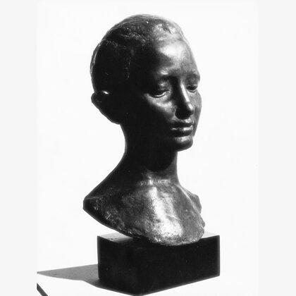 """""""Saridda"""" 1946 ceramica metallizzata"""
