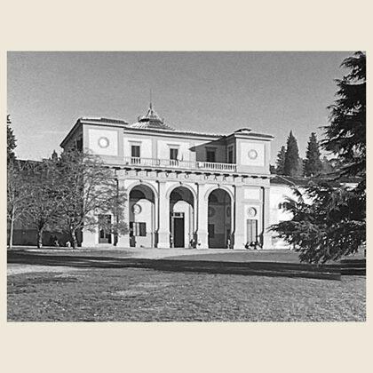 La Scuola d'Arte di Porta Romana a Firenze nel 1937