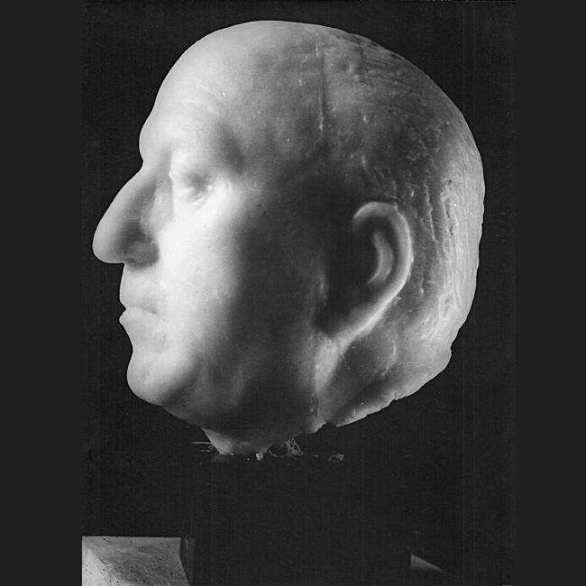 """Giuseppe Micieli. """"Ritratto del Dottore Spadaro"""" 1946 - Cera - grandezza al vero"""